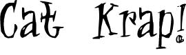 Preview image for Cat Krap! Font