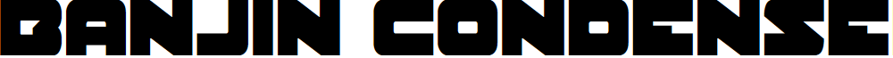 Banjin Condensed
