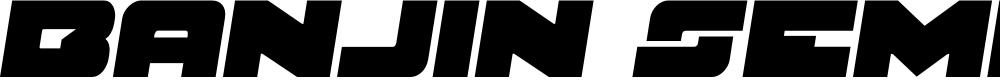 Preview image for Banjin Semi-Italic