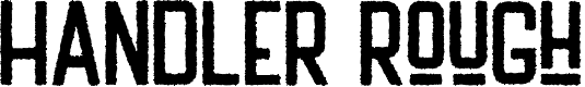 Preview image for HANDLER Rough Font