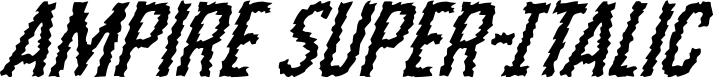 Preview image for Ampire Super-Italic