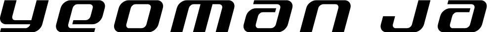 Yeoman Jack Title Italic
