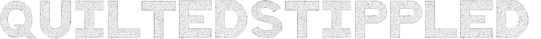 Preview image for QuiltedStippled Font