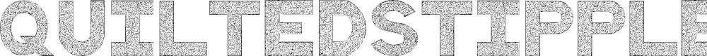 Preview image for QuiltedStippled Font