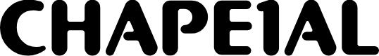 Preview image for CHAPE1AL Font
