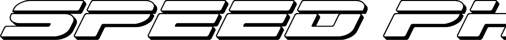 Preview image for Speed Phreak 3D Italic