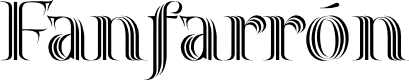 Preview image for Fanfarrón Font