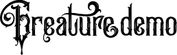 Preview image for GreatureDemo Font