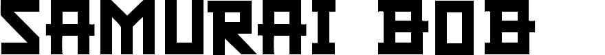 Preview image for CF Samurai Bob Regular Font