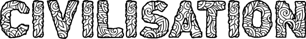 Preview image for CF Civilisation Maya Regular Font