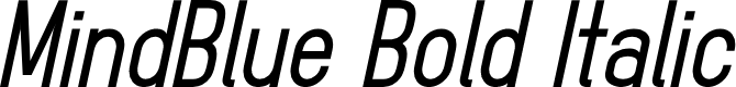 Preview image for MindBlue Bold Italic