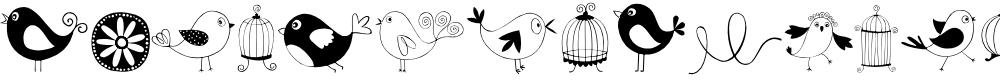 Preview image for DOODLE DINGS 1 Birds Cages
