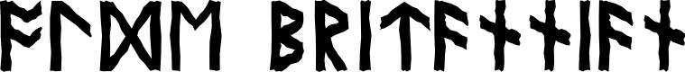 Preview image for Olde Britannian Font