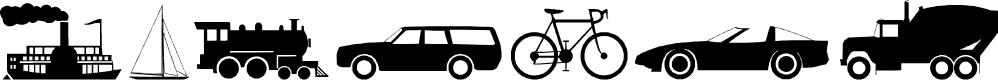 Preview image for Transport Font