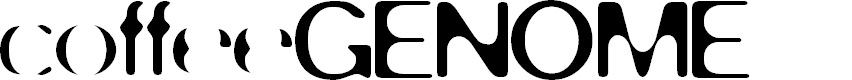 Preview image for coffeeGENOME Font