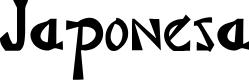 Preview image for Japonesa Font