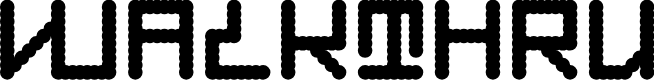 Preview image for Walkthru Font
