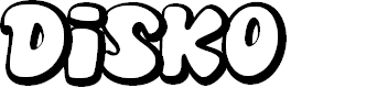 Preview image for Disko Font