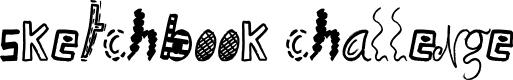Preview image for Sketchbook Challenge Font