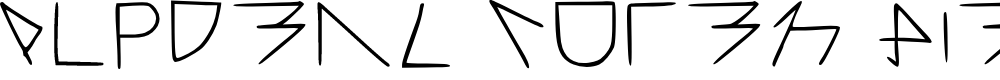 Preview image for Alpderz Vuten Hiergrage Regular