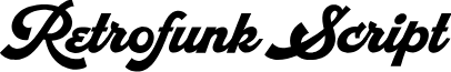 RetrofunkScriptPersonalUse font