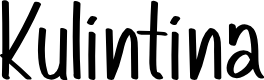 Preview image for Kulintina Font