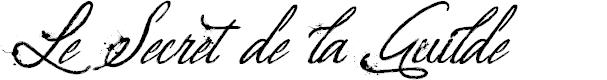 Preview image for Le Secret de la Guilde Font