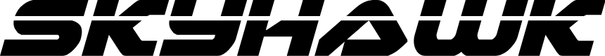 Preview image for Skyhawk Laser Italic