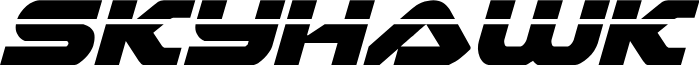 Skyhawk Laser Italic