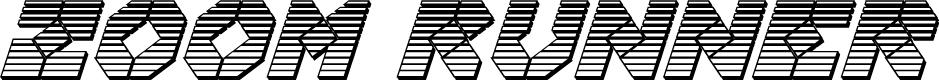 Preview image for Zoom Runner Chrome Italic