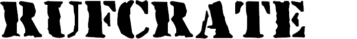 Preview image for RufCrate Normal Font