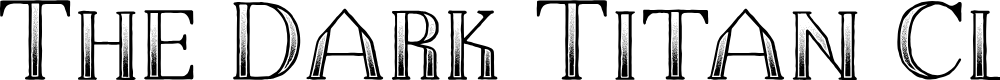 Preview image for The Dark Titan Classic Font