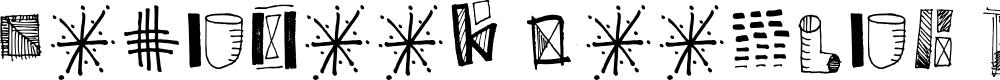 Preview image for Notebook Doodles Regular Font