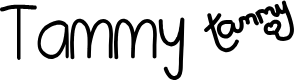 Preview image for Tammy Font