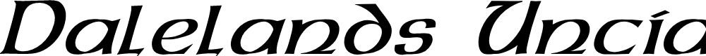 Preview image for Dalelands Uncial Italic