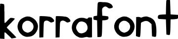 Preview image for korra_font