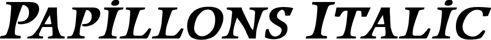 Preview image for Papillons Italic
