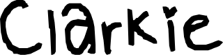 Preview image for Clarkie Font