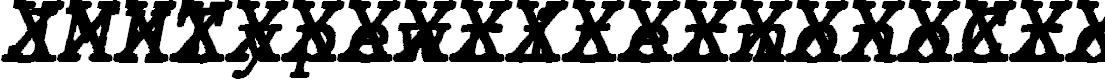 Preview image for JMHTypewritermonoCross-Italic