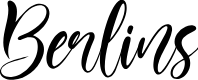 Preview image for Berlins Font