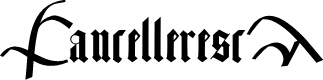 Preview image for CancellerescA Font