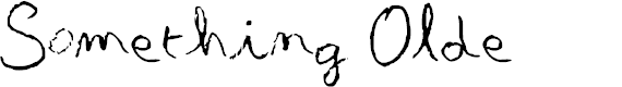 Preview image for Something Olde Font