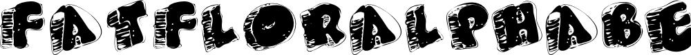 Preview image for FatFloralphabetXperimental Font