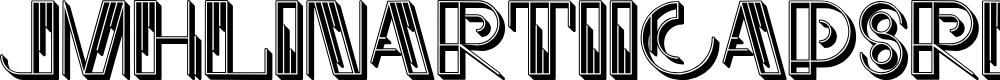 Preview image for JMHLinartIICaps-Regular Font