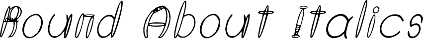 Preview image for Round About Italics