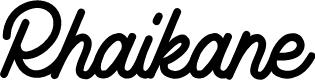 Preview image for Rhaikane Font