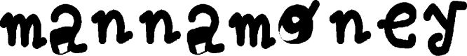 Preview image for mannamoney Font