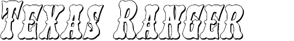 Preview image for Texas Ranger 3D Italic