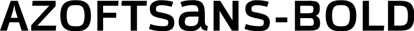 AzoftSans-Bold