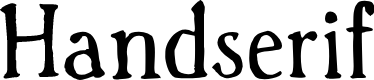 Preview image for Handserif